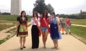 Miss Tunisia in Washington