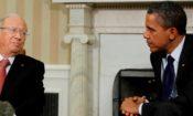 Obama Essebsi meeting
