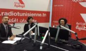 U.S. filmmaker Linda Mills and American Film Showcase (AFS) Representative Alan Baker Spoke at Radio Nationale Tunisienne
