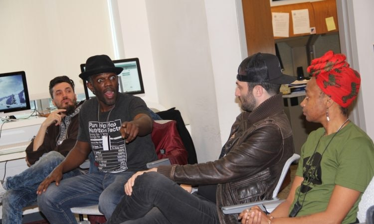 The Information Resource Center Hosts Next Level Hip-Hop Program